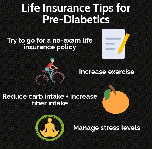 Life insurance tips for pre-diabetics